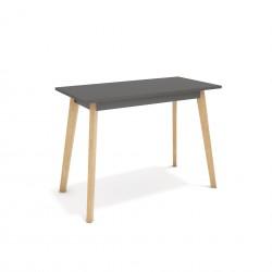 Wysoki stół na dębowych nogach Balwoo SK-116