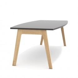 Stół konferencyjny na dębowych nogach Balwoo SK-101