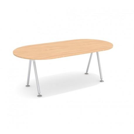 Stół konferencyjny SK-18 ze stelażem GEOS (200x100 cm)