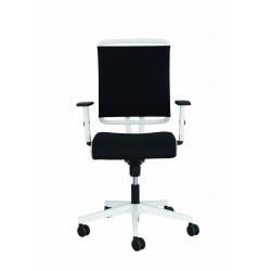 Fotel biurowy, obrotowy @Sense White
