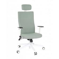 Krzesło biurowe TEAM W PLUS HD white