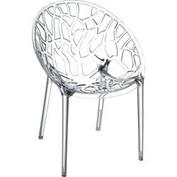 Krzesło do jadalni, kawiarni CRYSTAL