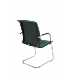 Krzesło Level V BT Arm chrome, podłokietniki