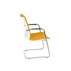 Krzesło Level V WT Arm chrome, podłokietniki