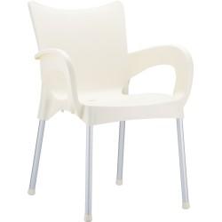 Krzesło z podokietnikami Romeo