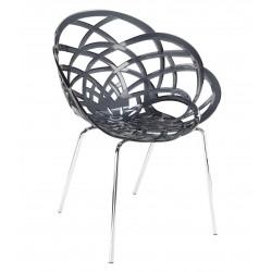 Designerskie krzesło do jadalni, hotelu Flora ML