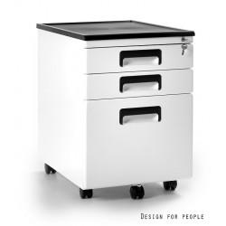 Metalowy kontener biurowy 324 w 3 kolorach