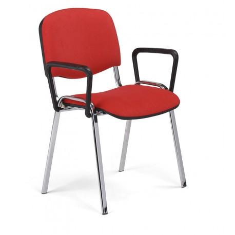 Krzesło do poczekalni i sal konferencyjnych ISO lux arm