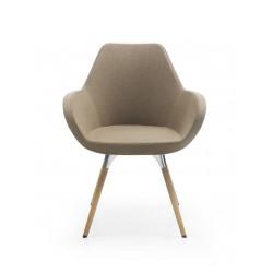 Krzesło do biura,jadalni i restauracji FAN 10HW