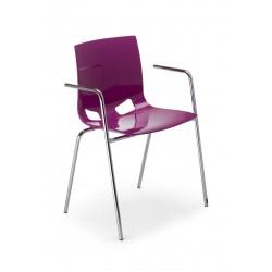 Krzesło kawiarniane FONDO ARM PP
