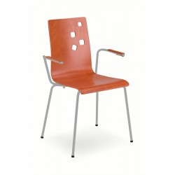 Krzesło kawiarniane AMMI ARM