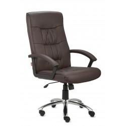 Fotel gabinetowy RELAKS SGB steel (skóra licowa)