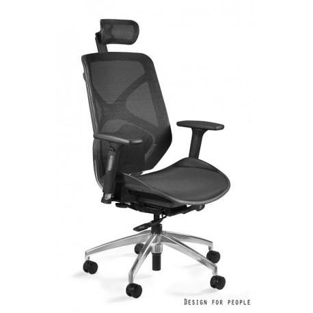 Krzesło biurowe HERO czarne siatka