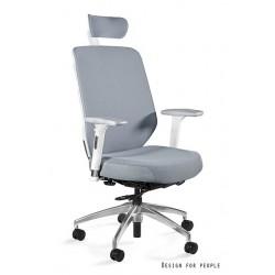Krzesło biurowe HERO białe tkanina