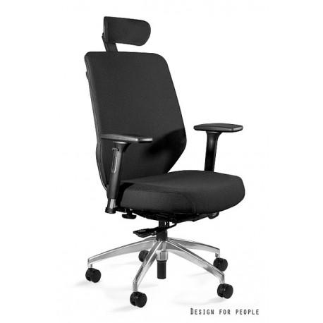 Krzesło biurowe HERO czarne tkanina