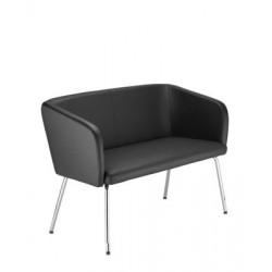 Sofa do poczekalni HELLO 4L DUO chrome