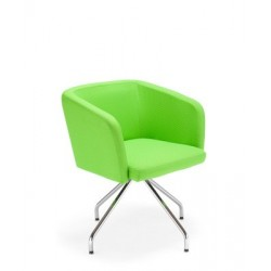 Krzesło do poczekalni Hello 4S chrome