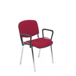 Krzesło do poczekalni ISO ARM chrome