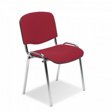 Krzesło do poczekalni ISO LUX chrome