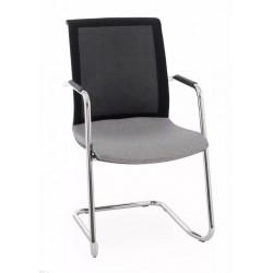 Krzesło Level V BS Arm chrome
