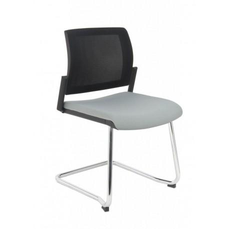 Krzesło konferencyjne Set Net V Chrome