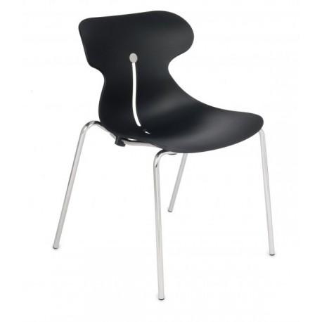 Krzesło do jadalni Mariquita chrome