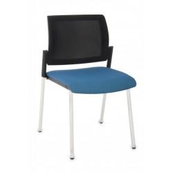 Krzesło konferencyjne Set Net Chrom