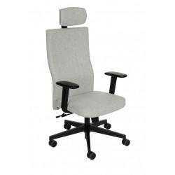 Krzesło biurowe TEAM PLUS BLACK