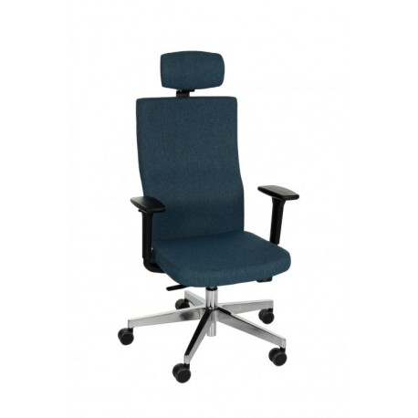 Krzesło biurowe TEAM PLUS HD CHROME