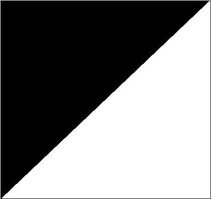 Biały/czarny